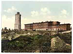 Harzer Brocken im Jahre 1900