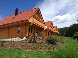 Ferienhäuser und Ferienwohnungen in Wernigerode aus Holz