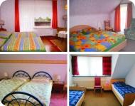 3 Schlafzimmer mit Balkon und 1 Zweibettzimmer, 1 Kinderbett steht zur Verfügung