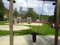 Der Spielplatz in Altenbrak mit Minigolf- 8 min entfernt