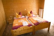 Das Schlafzimmer der Ferienwohnung.