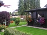 Erholung im Garten: sitzen, liegen und schauen