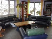Wohnbereich mit Fußbodenheizung