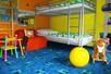 Kinderzimmer mit 2 x Stockbetten