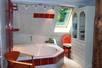 4 Personen Badewanne in der offenen Diele