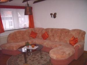 Gemüthliche Sitzecke im Wohn- und Esszimmer