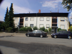 Haus von der Straßenseite ( Sackgasse )