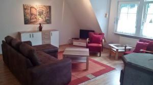 Neu: Gemütlicher Wohnbereich in der Atelierwohnung (70 m²)