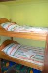 Kinder-/Jugendbetten (diese Schlafkammer geht von dem Elternschlafzimmer ab