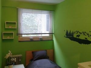 Das dritte Zimmer - mit einem Bett.