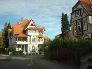 Bad Harzburg -typische Villen