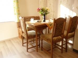 Sitzgruppe Küche Ferienhaus
